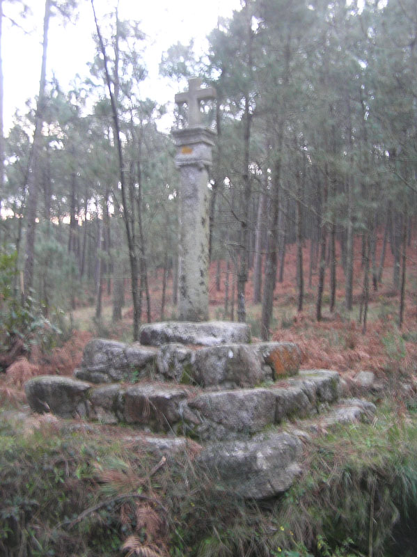 Crosspiece at Monte of San Martiño